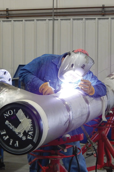 Edwards, Inc. - Pipe Fabrication